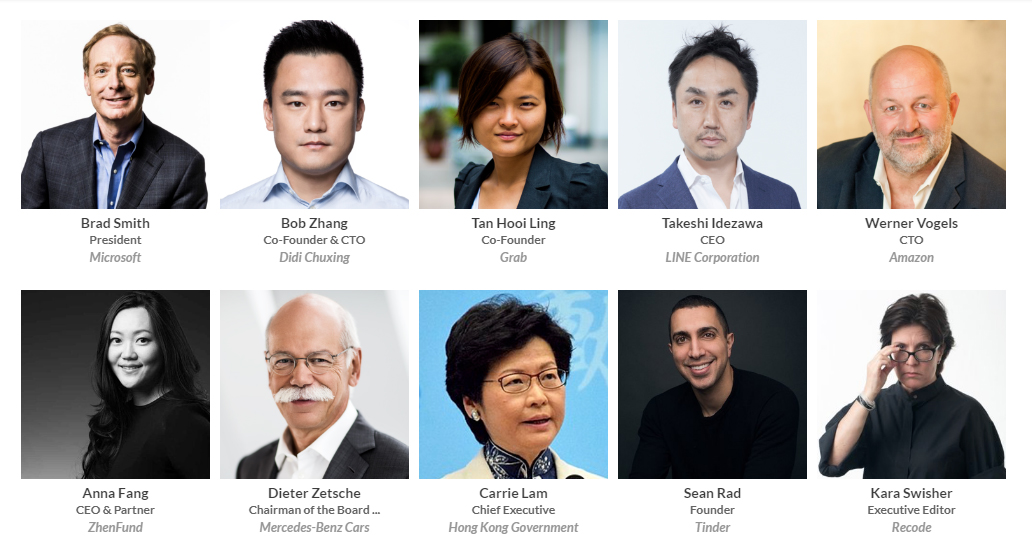 Rise 2018 Speakers
