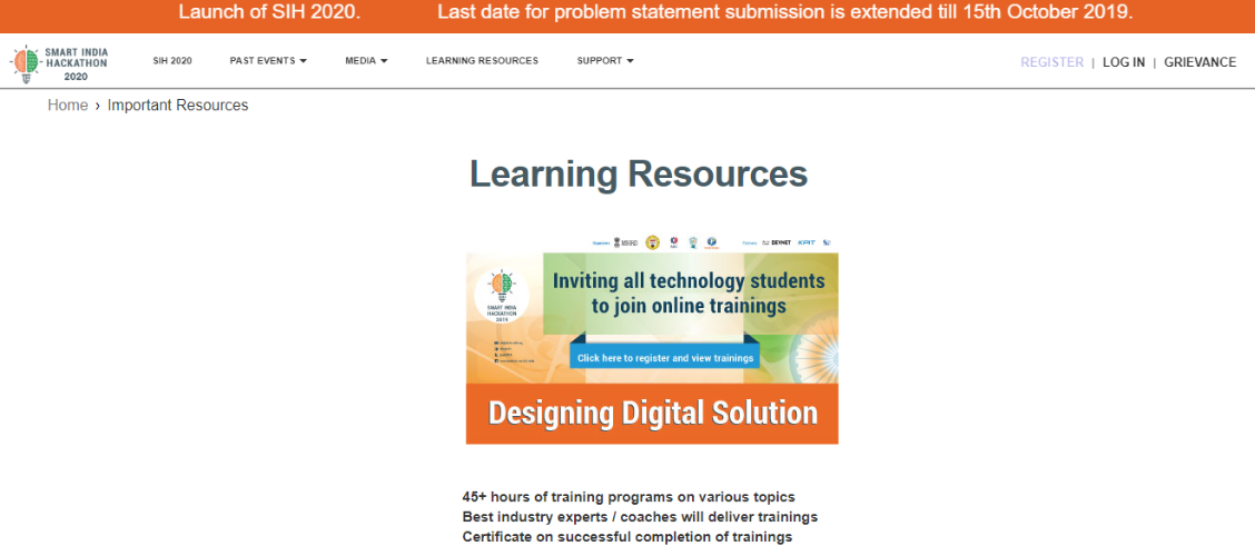 Smart India Hackathon eligibility