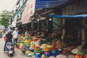 Reach out to local markets for selling produce