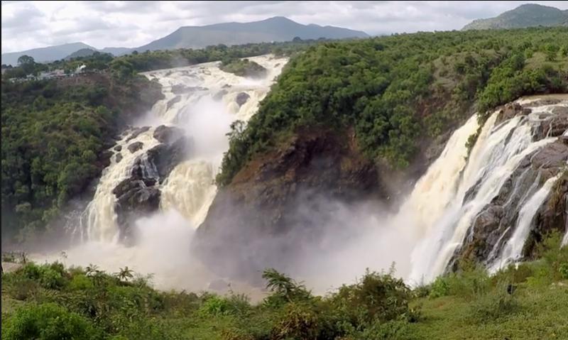 Shivanasamudra falls, Mandya