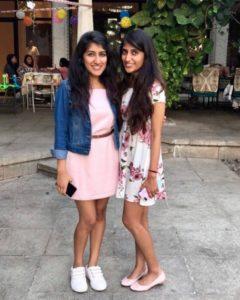 Shyamli and Devanshi