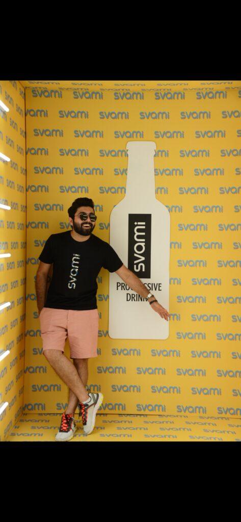 Meet Rohit, the city head of Svami Progressive Drinks