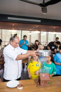 Chef Vivek Tamhane at the BLVD Club