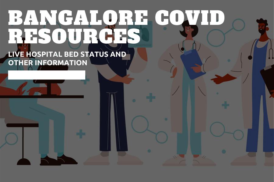 Bangalore covid resources